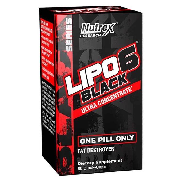 Lipo6 Black Ultra Concentrate americký spaľovač